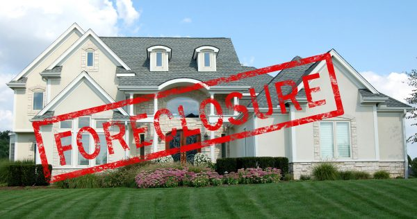 property foreclosure in a divorce