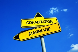 marriage and cohabitation in the united states